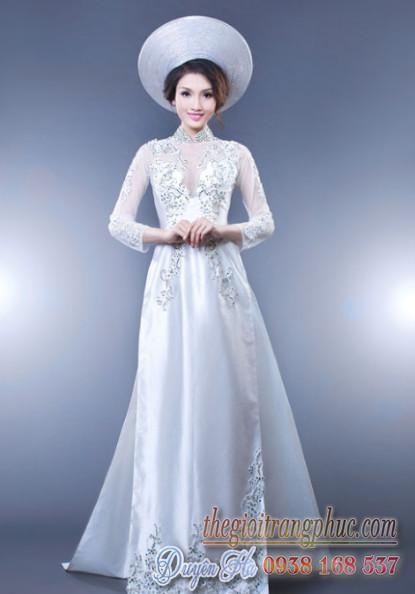 Cho thuê áo dài cô dâu