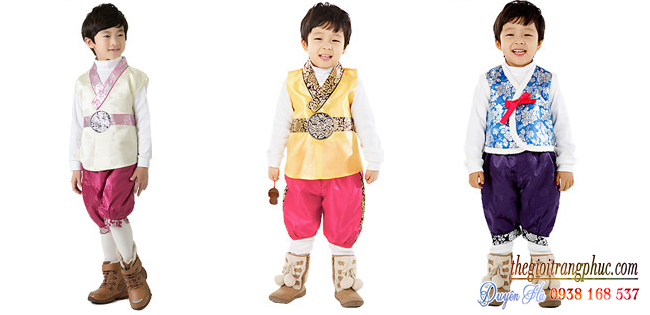 Cho thuê hanbok trẻ em