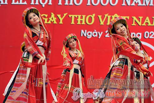 Cho thuê trang phục múa dân tộc