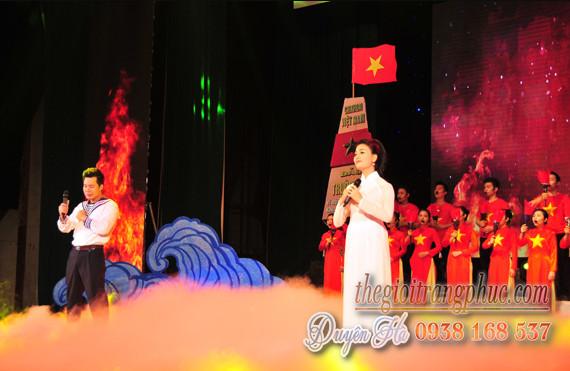 HCM - Cho thuê trang phục cảnh sát biển, lính hải quân