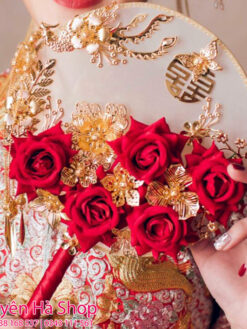thuê quạt cưới trung quốc